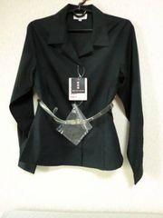 送無!日本製新品!ソフトコットン100長袖レディースシャツM/9号