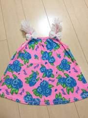 ◆ 超美品 ◆ RONI ◆ 花柄 キャミソール ピンク ML  ロニィ