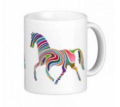 「 虹の馬のイラスト 」のマグカップ