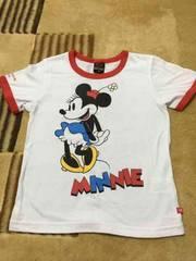 ベビードール×ミニーちゃん 半袖Tシャツ 120
