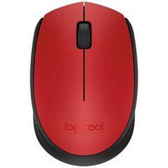☆Logicool ワイヤレス光学式マウス M171RD(レッド ブラック)