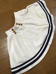 repipi白スカート  xs140-150  レピピ