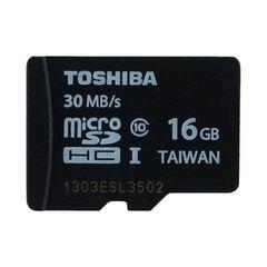 【送料込】東芝microSDHC 16GB Class10・R=30MB/S
