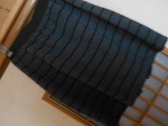 チャオパニック薄手ボーダータイトスカート☆クリックポスト164円