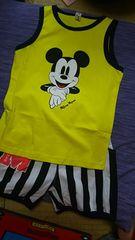 新品 Mickeyセットアップ コットン