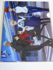 レア 当選品 Fate stay night オリジナルクリアファイル 4種セット / ローソン フェイト
