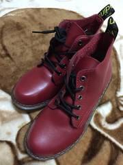 新品★ワインレッド靴/レッドウイング風