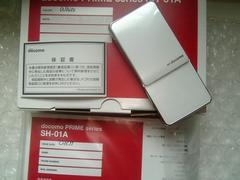 *SH-01A/SH01A*  ★ほぼ新品未使用品☆*。+゜ ホワイト