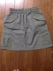 MINI BA-TSU ミニバツ*カーゴスカート*サイズ110