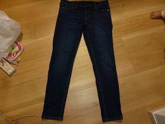 無印良品 スキニーデニムパンツ 27サイズ(68.5cm)