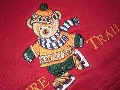 ピンクハウス ネーチャートレイル スケートくま刺繍入りスカート タグ付き未使用 クマ刺繍