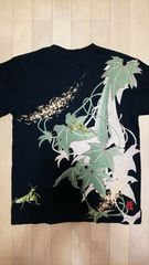 セール 新品 [ 絡繰魂 ]胡瓜に螳螂(カマキリ)半袖Tシャツ スカジャン 好きにも