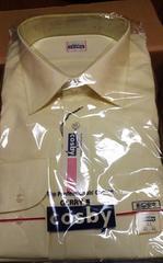 新品 cosbyのワイシャツ (薄い黄色) LLサイズ