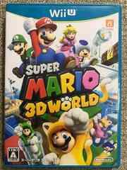 スーパーマリオ3Dワールド 美品 WiiU