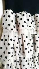 CHILD WOMAN/チャイルドウーマン/ベアトップ/キャミ/スカート/水玉フリル三段スカート/カワイイ