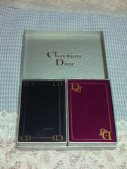 Dior トランプ2個セット未使用 激レア品