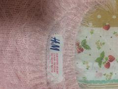 H&Mラメ入りニット☆千鳥柄ジャンバースカート
