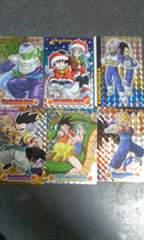 ドラゴンボール/プラスチックカード12枚