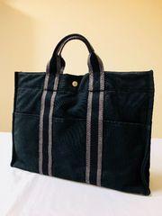 1円 ◆正規品◆ 美品 ◆ エルメス フールトゥーMM 黒 バッグ