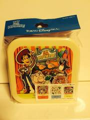 TDS トイストーリー ランチボックス3個セット ディズニー 新品