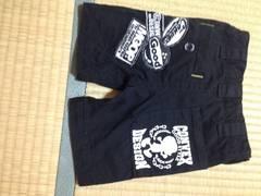☆美品☆コンベックスの黒色ズボン☆ワッペン&プリント可愛い