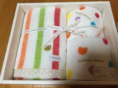 ツモリチサト tsumori chisato ギフトタオルセット 新品