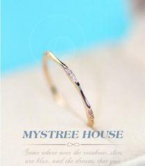 1円〜指輪/フリーサイズ リング/ 9号〜20号/細身/女性用/ダイヤ