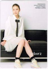 武井咲 雑誌付録カード 白スカート