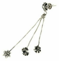 chrome hearts☆CHクロス ジョジョピアス☆ハーフイヤー☆初入荷!☆レア物!