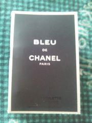CHANEL 『BLEU DE CHANEL』非売品サンプル