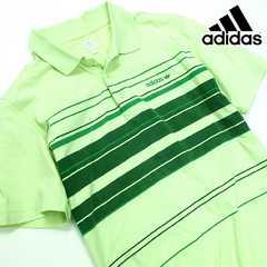 美品!! adidas アディダス 90s メンズ 半袖ポロシャツ I99