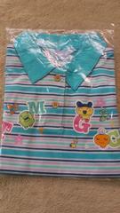 新品☆110�p・たまごっち半袖ポロシャツ 青
