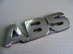 ● 新サイズ! ABS クロームメッキ仕様 ABS製エンブレム ● 新品