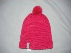 wb428 女 RIP CURL リップカール ボンボン付き ニット帽