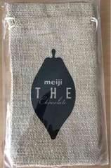 新品■明治 meiji the Chocolate 麻袋 巾着袋 切手払い可能