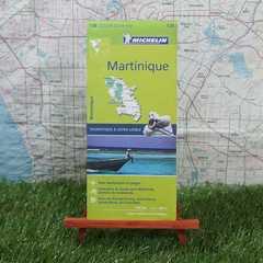 新品【輸入地図】Martinique/マルティニーク