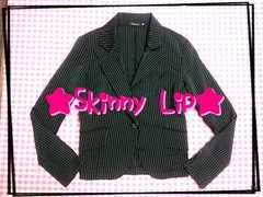 skinny  lip♪ストライプ♪ジャケット☆