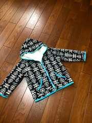 【サイズ110】SIRMIONE◆リバーシブル◆暖かボアパーカージャケ