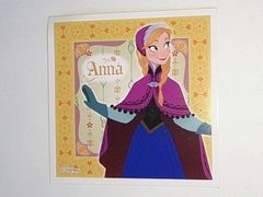 ディズニー アナと雪の女王 シールコレクション アナ 未使用