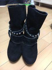 新品 セシルマクビー ブーツ