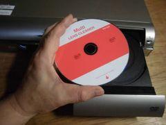 ★ブルーレイ レンズクリーナー★BD・DVD・CD 1枚で万能マルチ