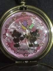 ミッキー&フレンズ両面のミッキー柄が可愛い懐中時計☆新品☆