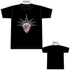 リバティ 自由の女神 星条旗 Tシャツ 半袖 半袖Tシャツ 1603 XL
