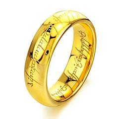 新品 1円〜★送料無料★ 25号 K24GF ゴールドリング 指輪 ステンレス鋼