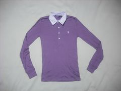 wr533 女 Ralph Lauren ラルフローレン 長袖ポロシャツ XSサイズ