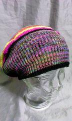 ニットベレー帽 タム バルーン 未使用品 エスニック レゲエ ジャマイカ レトロ