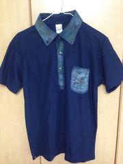 USED★Mサイズ半袖ポロシャツ¥500スタ