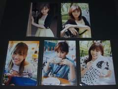 AKB48 タイムマシンなんていらない 封入生写真5枚 前田敦子
