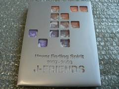 J-FRIENDS/DVD【Never Ending Spirit 1997-2003】TOKIO嵐V6KinKi