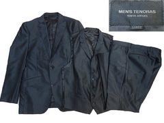 2427■美品メンズティノラス 3Pスーツ上下セット 黒 です。